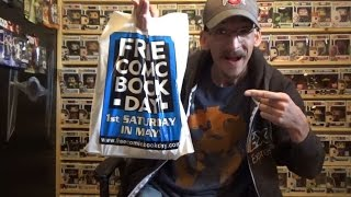 Free Comic Book Day Haul 2017