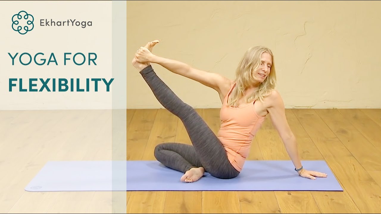42abcc3ef34fbc Gain and sustain your flexibility - a Hatha yoga class. EkhartYoga