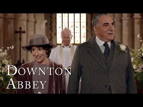 Mrs Hughes Gets Her Dream Wedding | Downton Abbey