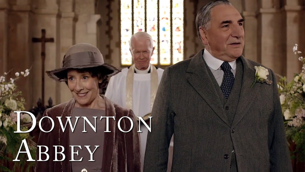 Download Mrs Hughes Gets Her Dream Wedding | Downton Abbey
