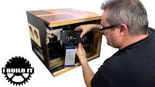 Installing The Hardware In My Wooden Computer case