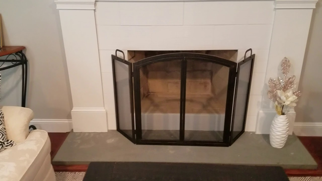 Review Oil Rubbed Bronze 55 In Brixton 3 Panel Fireplace Screen Seeds