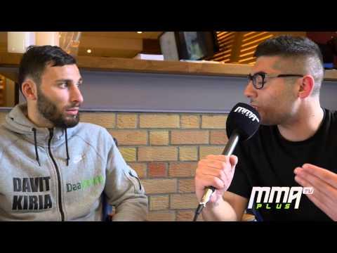 GLORY 22: Lille - Davit Kiria pre-fight interview