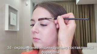 Авторское художественное оформление бровей от Александрины Арзамасцевой
