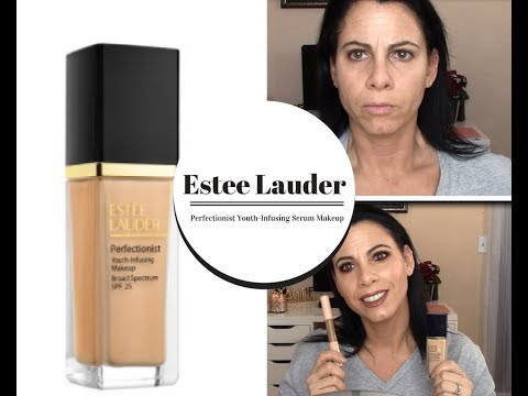 Estee Lauder Perfectionist Youth Infusing Makeup Review Is It