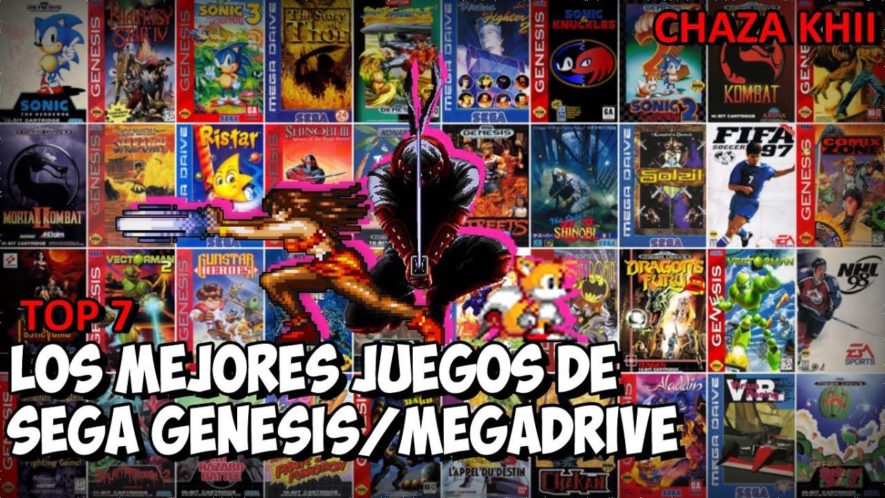 Top Los Mejores Juegos De Sega Genesis Megadrive Youtube