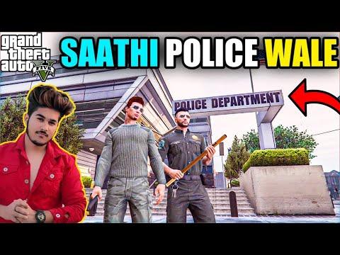 GTA 5 : SAATHI POLICE WALE IN LOS SANTOS thumbnail