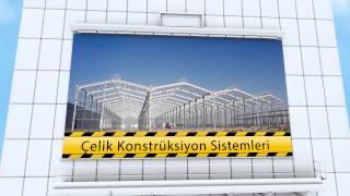 Çelik Konstrüksiyon Sistemleri - Endüstriyel Tesisler - Hiceran Mühendislik Konya