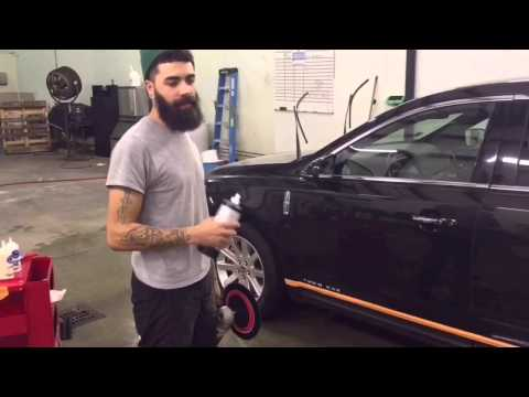 Ceramic coating step by step by upscale detailing and customs .. Philadelphia pa.