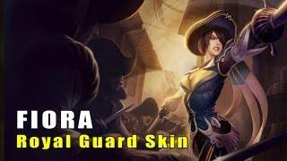 League of Legends Royal Guard Fiora Skin