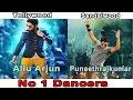 Tollywood And Sandalwood NO 1 Dancers - Allu Arjun And Puneeth Rajkumar