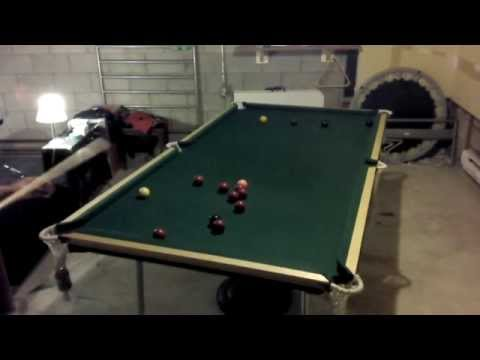 Homemade Snooker Table
