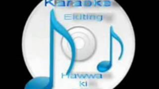 Aaj Jaane Ki Zid Na Karo ( Pakistani - Baadal Aur Bijli ) Free karaoke with lyrics by Hawwa-