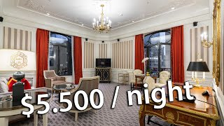 The St. Regis New York, $5,500 Grand Suite review
