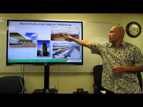 Honolulu Rail Transit Update - Feruary 18, 2015
