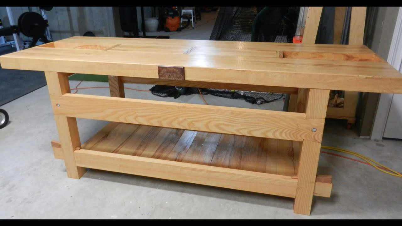 Making a Workbench - YouTube