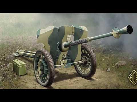 Снаряд 25x193 к противотанковой пушке Гочкис (Hotchkiss)