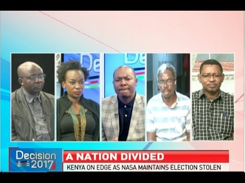 A nation divided, which way forward for Kenya post-election 2017