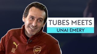 Which Arsenal player shot Emery in paintball?! | Tubes Meets Unai Emery