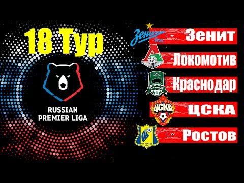 Футбол.Чемпионат России 2019/2020 (РФПЛ) 18 тур Результаты.Таблица.Расписание 19 тура