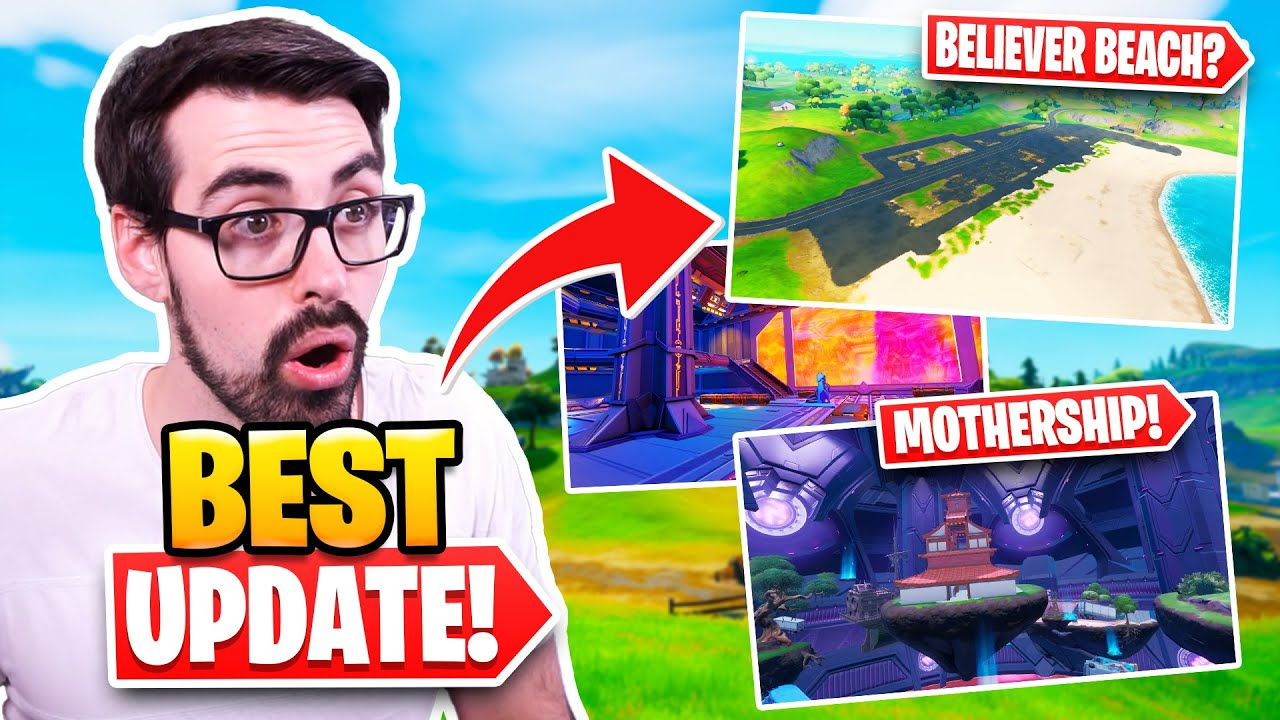 Biggest Update Ever! | New Mothership POI | Changes to Arena | Summer Challenges