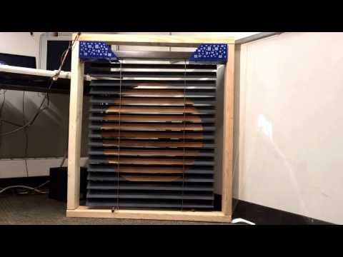 Ambilinds - Sunlight-driven Solar-powered Window Blinds