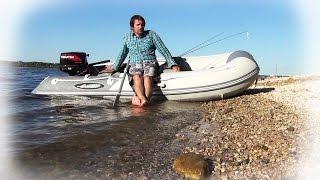 Лодка ПВХ Gladiator 330 + мотор Tohatsu 9.8(Продолжение моей лодочно-моторной эпопеи. В этой серии первый день использования ПВХ лодки Gladiator B330(AL), кото..., 2015-01-25T10:33:51.000Z)