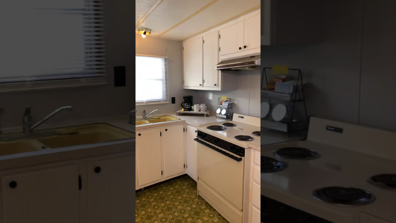 Mobile Home Kitchen Cabinets Painted Youtube