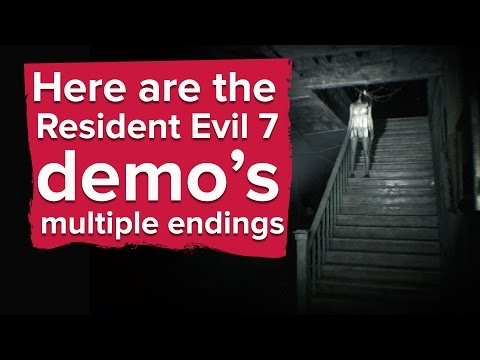 Resident Evil 7 Demo Has Multiple Endings - What Is The Dummy Finger For? PS4 Gameplay No Commentary