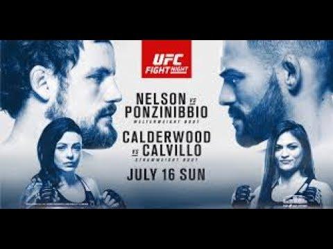 UFC Glasgow Nelson v Ponzinibbio Fight Predictions