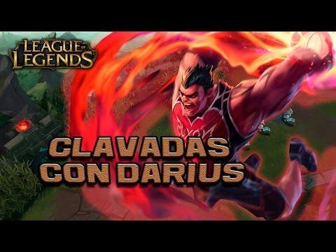 DARIUS EL REY DE LAS CLAVADAS EN TOP! - League of Legends 2015 - 동영상