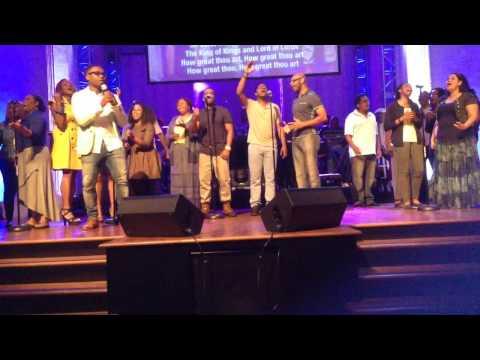 "J Shep ""How Great thou Art"" live at St. John's church Houston"
