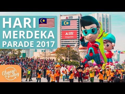 HARI MERDEKA PARADE 2017 - HARI KEBANGSAAN, KUALA LUMPUR, MALAYSIA