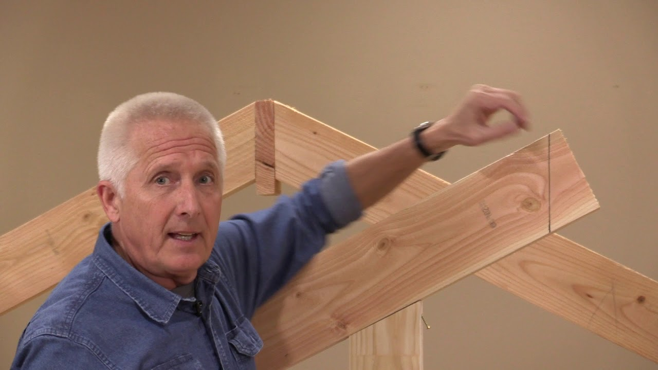 Cutting Common And Hip Rafters Simple Solutions For Roof Framing You