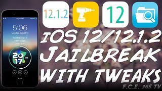 iOS 12.1.2 / 12.0 JAILBREAK (RootlessJB) With Tweaks for A7 to A11 RELEASED!