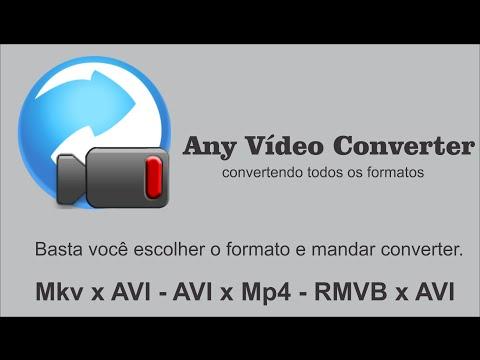 ANY VIDEO CONVERTER -  CONVERTENDO VÍDEO SIMPLES