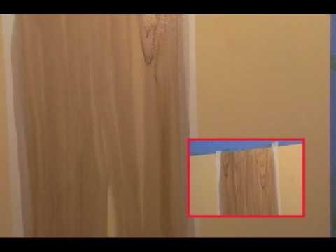 Textura imitacion madera youtube for Paredes imitacion madera