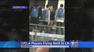 3 UCLA Basketball Players Fly Back To U.S. After Shoplifting Charges