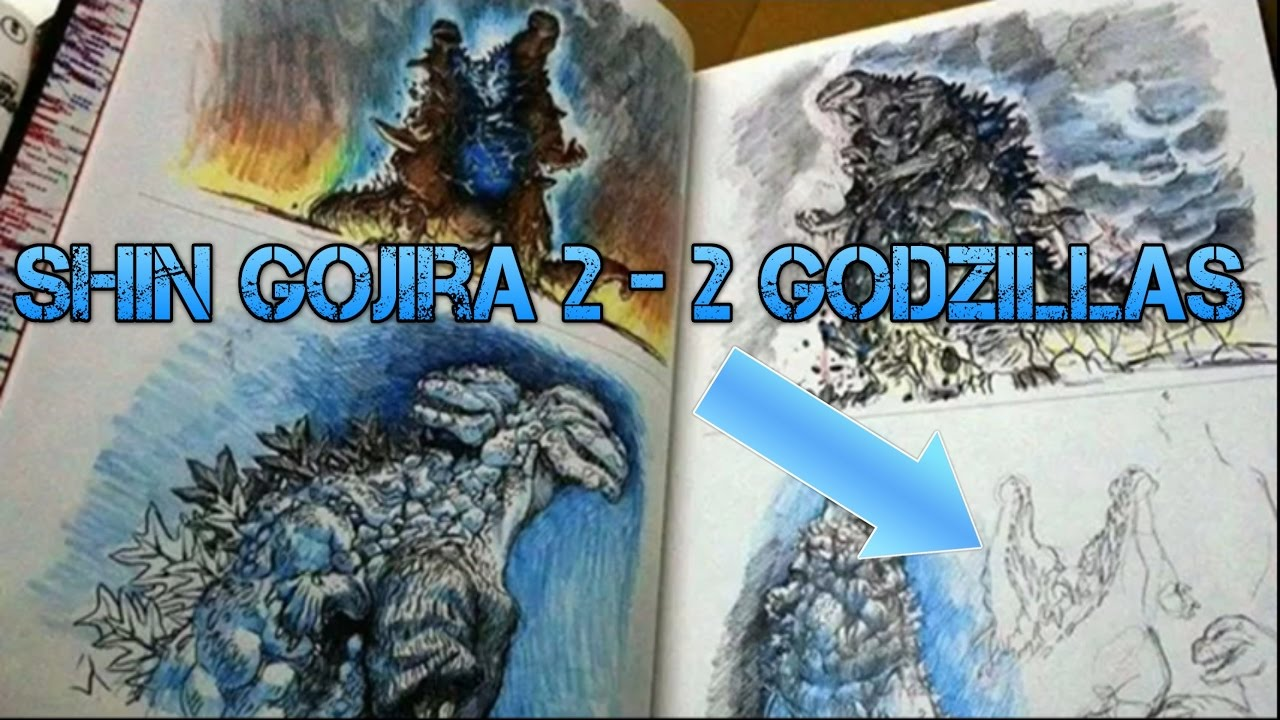 Shin Godzilla 2 News And Theory Update Two Godzillas