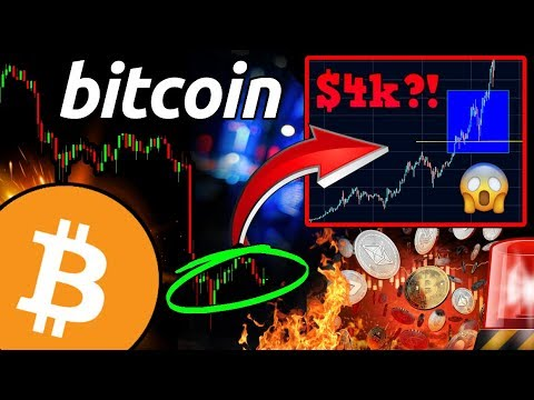 MASSIVE BITCOIN CORRECTION?! Is $4,000 $BTC Price POSSIBLE? Altcoin RALLY Soon?