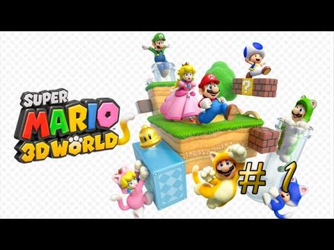 Super Mario 3D World Guia Mundo 1