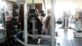 Shannon Squatting 135 for 3, June 17, 2012