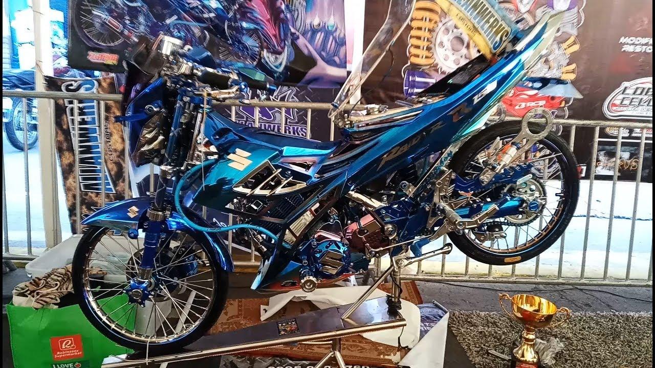 Raider 150 Full Chrome Setup Blue By Allanwerks Part 3