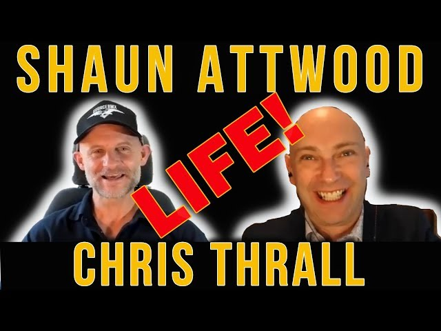 Shaun Attwood & Chris Thrall On Freedom Of Speech, London Real  & The ROBBIE Williams Podcast