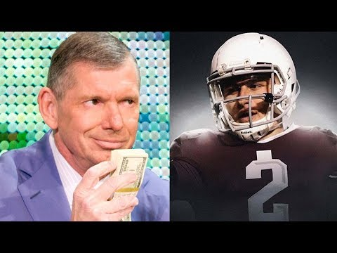 Vince McMahon Bringing Johnny Manziel to the XFL Reboot!!?