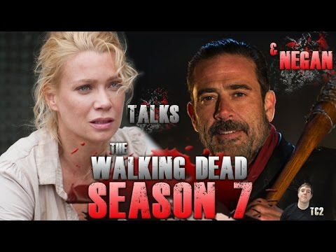The Walking Dead  Laurie Holden Talks Andrea and Is Negan Becoming the Best Character?!