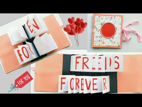 Friendship Day Flag Card/Friends Forever Card/How to make Card for Friend/Friendship Day Card