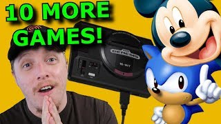 The Sega Genesis Mini is CRAZY! 10 More Games REVEALED!
