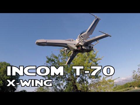 RC X-Wing Incom T-70