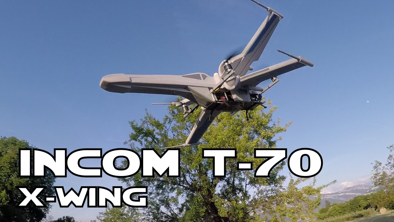 Rc X Wing Incom T 70 Youtube